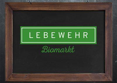 LEBEWEHR Biomarkt