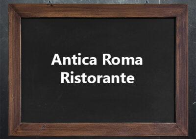 Antica Roma Ristorante