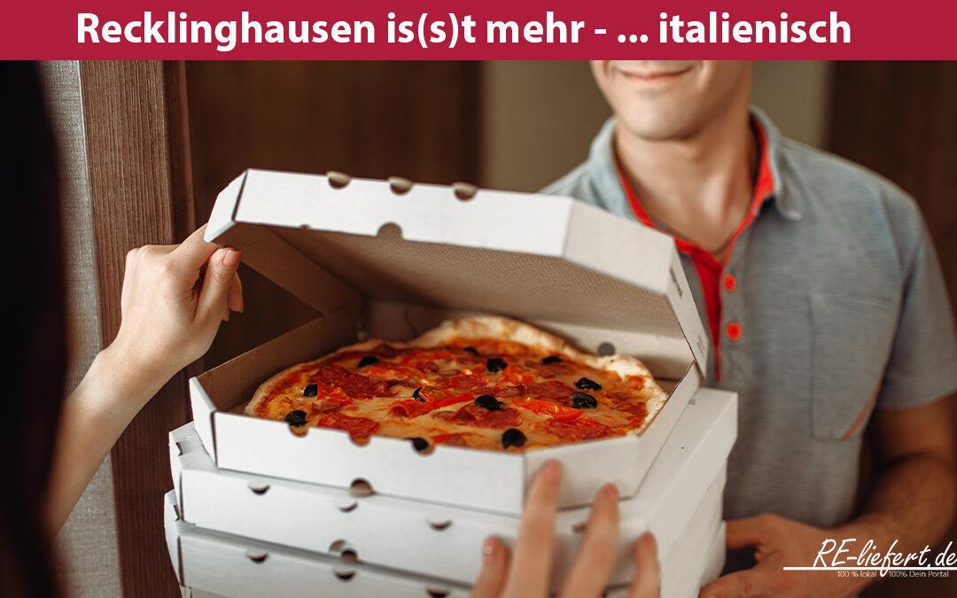 Pizzataxi für dich – einfach Pizza bestellen in RE